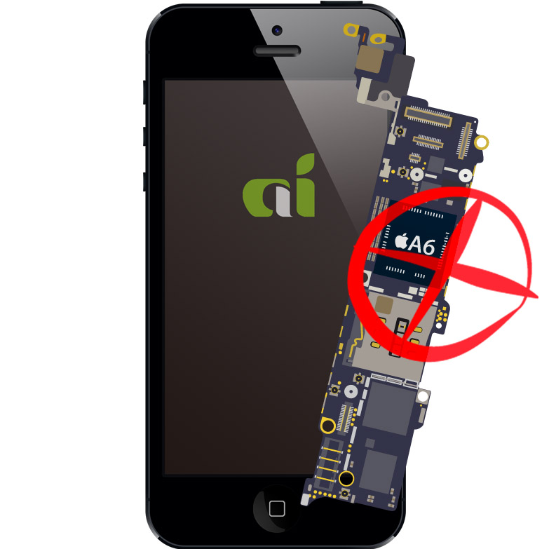 iphone5 主板損壞  iphone 5 motherboard on problem