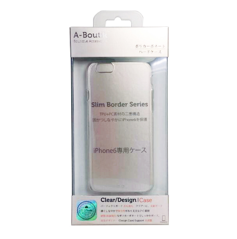 iPhone6 iPhone6 Plus 超薄抗震防刮殼 (TPU+PC材質)